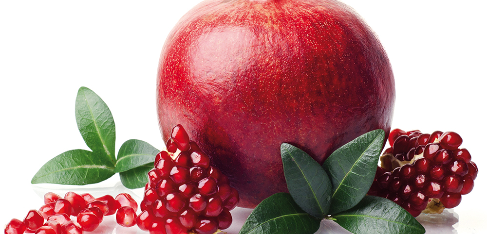 pomegranate, antioxidant, natural ingredients, essential, natural haircare, quality